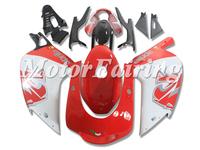 Bodywork Fairing kit For 2001 2002 2003 2004 2005 Aprilia RS125 Aftermarket Motorbike Body Kits Red White