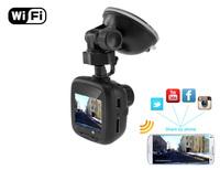 "Car Dvr mini D37 WIFI 1.5"" 1080P AIT Chip as good as Ambarella h.264 FAGUAUN fish eye 6pcs glass lens good night vision Russian"