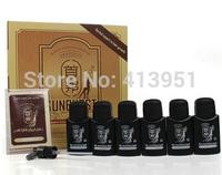 Hot Sell!! Arabic and English Original real result sunburst hair growth Nourishing Liquid 6 bottles 50ml Free Shipping