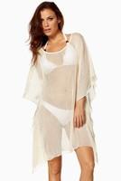 2014 European and American trade dress sexy seaside resort outside bat sleeve blouse skirt dress wholesale