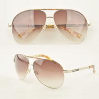 New 2014! Mens Aviator Big Metal High Quality Sunglasses, Italy Brand Designer Fashion Males 400UV Protection Gradient Sun Glass