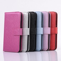 20pcs/lot New Luxury Silk Texture Leather Wallet Case with Stand for iphone 6 5s 5c 4s samsung S5 S4 NOTE 3 , Free shipping