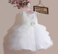 Sequin Baby Party Dress Fashion Sleeveless Flower Girl Dress Children Communion Dress Baby Formal Dress Wear
