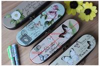 Free Shipping/ butterfly  /pencil bag /pen bag / 16.5*4.4cm