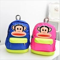 Kindergarten children's cartoon pupil bag   school bags  free shopping