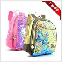 2014 new baby kindergarten children's cartoon bag bag  free shopping