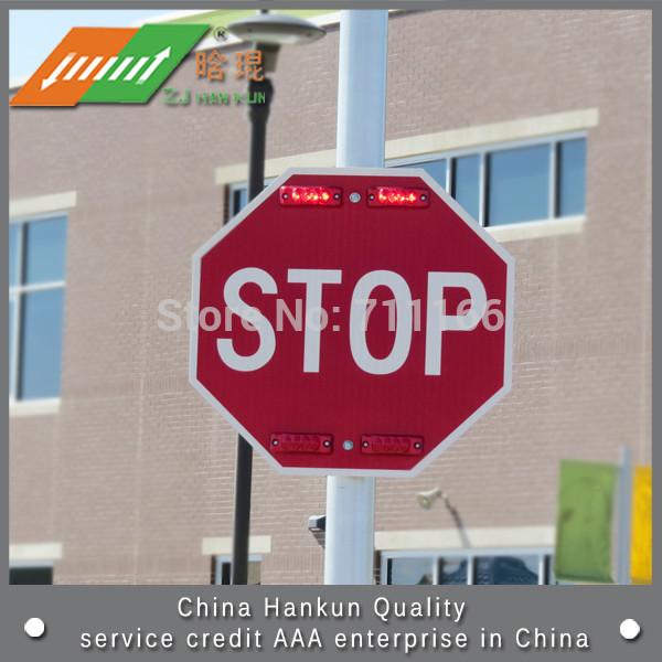 Reflective triangle brand Solar Traffic Signs(China (Mainland))