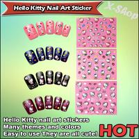 X-SHOP Hello Kitty Nail Art Sticker Many themes and colors