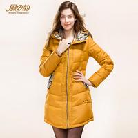 2014 winter fashion women slim long down coat down jacket