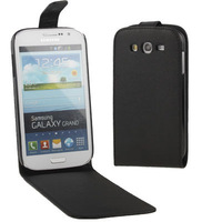Vertical Flip Soft Leather Case for Samsung Galaxy Grand Duos i9082 Support Big Order