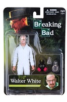 Breaking Bad Heisenber Walter White Figure White Clothes New Gift 16.5 cm (H)  Free Shipping