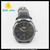 50/lot alibaba China vogue popular factory direct cheap men leather watch(WJ-2795)