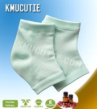 Moisturizing nightcare gel heel socks soft heels gel sleeves foot care unisex  yoga socks (4 pieces=2 Pairs)