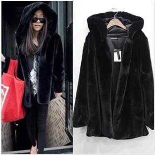Женская одежда из меха No brand , s/3xl RY340 women faux fur coat