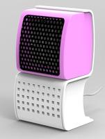 Factory Wholesale Mini  Burst Small Electric Fan Heaters Room Heater 500w Fan Heater Bathroom Fan Controller