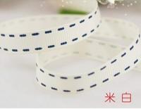 """9mm(3/8"""") 100 yards grosgrain ribbon printed lanyard free shipping"""