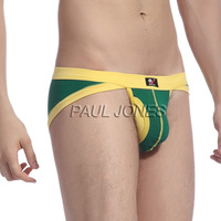 Promotion Men G String Underwear Sexy Mini Pouch Nylon Spandex T Back Panties Brand Holes Thong Briefs Male Plus Size CL7295