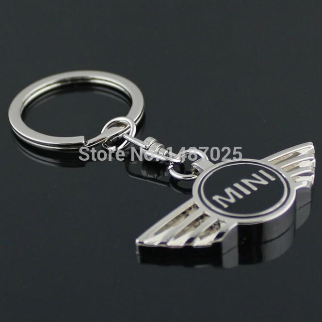 1 pcs/lot,4colors mini cooper car logo keychain/mini car key chain/Auto car key rings for mini,accessories(China (Mainland))