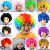 120g multicolor explosive head Hair Wigs Halloween Festivel Masquerade party necessary free shipping