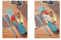Free Shipping/ beauty    /pencil box/ pen box/19*4.1cm