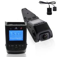 Free Shipping!B40 A118 Novatek 96650 AR0330 6G Lens H.264 1080P Mini Car Dash Camera DVR + GPS