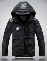 2014 winter Men's Sports down coat RLX warm down jacket Men outdoor winter warm jacket men leather coat windbreak sportwear