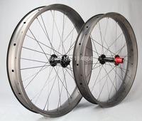 Newest carbon fat bike wheel 80mm snow bike wheelset XX1 cassette 10 speed 190/197mm hub UD matte