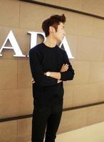 Casual Sweater Men Pullovers 2014 Brand Spring Autumn Knitting long sleeve neck Knitwear Sweatersl Korean slim fashion
