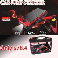 Drop Price !!Multi function Emergency car Mini Jump Starter 12000mAh power bank for laptops,mobiles,electronics device,car start
