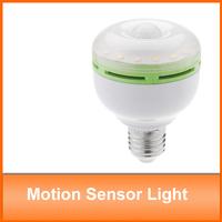 Ultra bright Led Lamp 6W 24 LEDs 90~260V E27 PIR Occupancy Motion Sensor Light Bulb