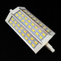 20pcs/lot DHL Free High Power R7S 10W 15W SMD 5730 led light replace flood lamp AC85-265V 48led light