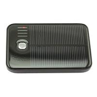 5000mAh Solar Panel Charger External Battery Pack 2 USB Port Portable Power Bank for iPhone iPad Samsung Nokia Smartphone 30PCS