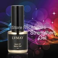 12pcs DHL Free Shipping Uv primer gel nail Metallic nails  function gel nail palette( 10color+1top coat +1base coat ) Fashion