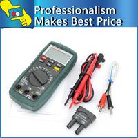 Mastech MS8221C Digital Multimeter Auto Manual Ranging DMM Temperature Capacitance hFE Test