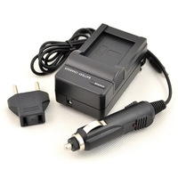DSTE DC122 Wall Charger + Car Charger For Fuji NP-85 and ORD NP-170