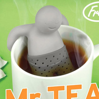 Tea Infuser High Temperature Resistance Kitchen Tools & Gadgets Cute Useful Cartoon Character Tea Leaf Strainer Silicon