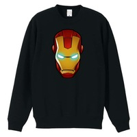 Iron Man 3 2014 new autumn and winter plus thick velvet round neck sweater hedging sweater men lady hoodies man hoody