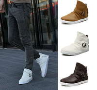 New Men's high help  Sneakers Autumn&spring   Fashion breathable flat with  Men sneaker