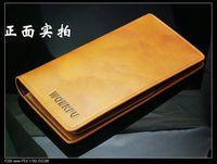 Hot New Fashion Men Wallets Leather Bags Long Design Male's Wallet Storage Handbag Clutch Bag Money Clips Card & ID Holder