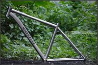 Authentic [] wind speed Windspeed WS-6 titanium alloy frame mountain bicycle frame wind titanium alloy frame