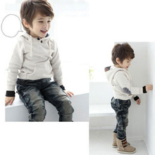 Unisex Baby Toddler Sweater Autumn Hoodie Outerwear Tops Boy Children Clothing(China (Mainland))