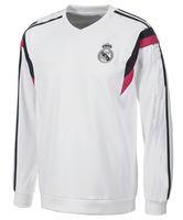 Top Thailand Quality 2014-2015 Club Soccer Sports sweater hoody 14 15 Real Madrid star sweater winter long sleeve Sports jerseys