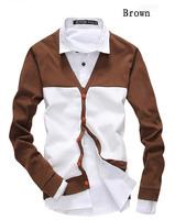 New Arrival Men Shirts Casual Long Sleeve Male Leisure Fashion Men's Slim Fit Dress Shirts