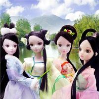 Chinese princess doll wedding doll christmas gift  4seasons doll