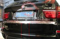 high quality!for BMW X5 E70 2011-2012 ABS Chrome rear gate lid cover Trims