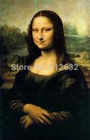 Mona Lisa By Leonardo Da Vinci reproduction, Oil Painting Reproduction,canvas oil painting,Handmade,Free fast shipping