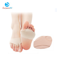 Pair of medical grade ball of foot forefoot pain relief support cushion gel Silicone pads Two Sizes for chose