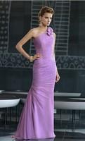 Luxury One Shoulder Evening Dress Mother of the Bride Dress