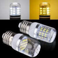 New Led Lamp E27 SMD3528 24/48LED Corn Light Cold White/Warm White Transparent Cover Bulb Lamp 200V-240V/2W/3W SV18 CB029485
