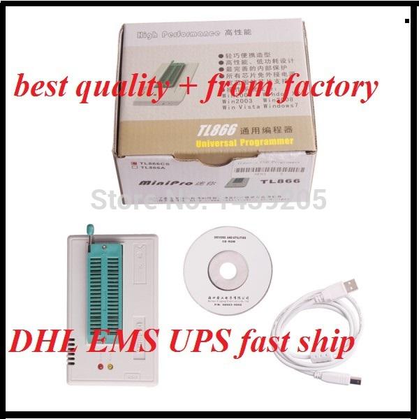 Newest Version V6.0 TL866cs USB Programmer TL866CS Prgrammer USB Universal Programmer(China (Mainland))